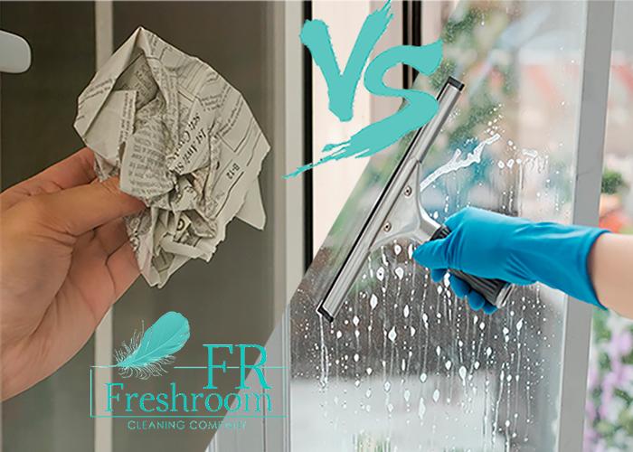 помыть окно без разводов
